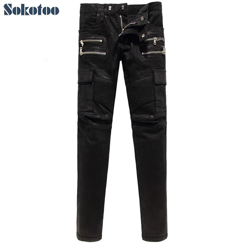 Popular Shiny Black Jeans-Buy Cheap Shiny Black Jeans lots from ...