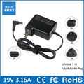 19V3.16A direct charge of non-original power adapter notebook power 60W charger For Acer 5.5mm*1.7mm