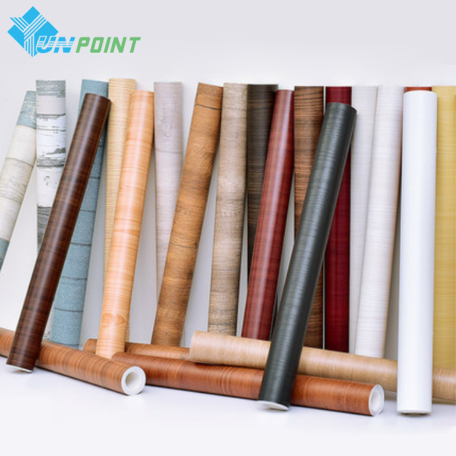 Wood Grain Black DIY Decorative Film Self Adhesive Wall Paper Furniture Renovation Stickers Kitchen Cabinet Waterproof Wallpaper waterproof pvc wood stickers boeing film mediterranean self adhesive wallpaper kitchen wardrobe cabinet old furniture renovation
