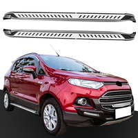 Pair Platform Side Step for Ford EcoSport 2013 2018 Running Board Nerf Bar