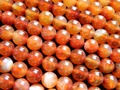 Free Shipping Natural Color 10-10.5mm Red agate Carnelian Smooth Round Beads Semi Precious Stone Diy Wholesale