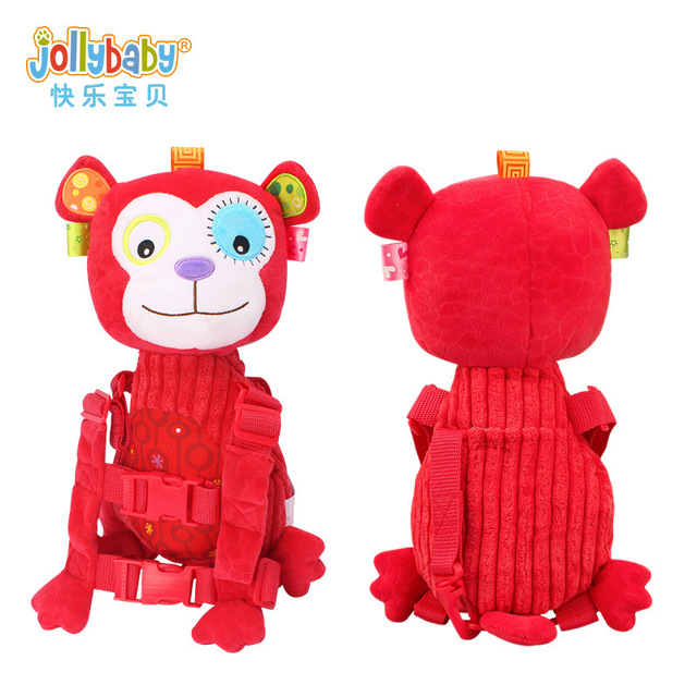 Sozzy Baby Animal Safety Backpack Anti-lost Bag Traction Rope Walking Harness Backpack Keeper Toddler Walking Safety Kids Safety