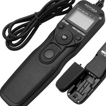 Кабель дистанционного спуска затвора с таймером N3 для Nikon D3300 D5000 D7000 D7100 D600 D610