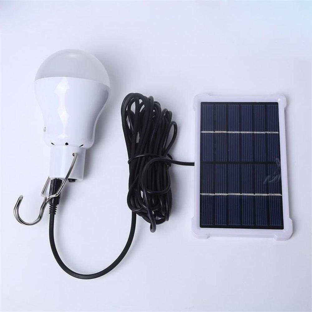 Портативный Солнечная лампа LED Перезаряжаемые подвесной светильник дома энергии Освещение Рыбалка огни Открытый Пеший туризм палатка ali88