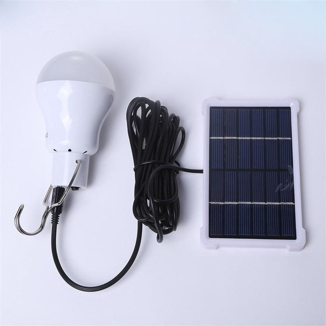 Portable Solar Light Bulb Led Rechargeable Hanging Lamp Home Energy  Lighting Fishing Lights Outdoor Hiking Camping