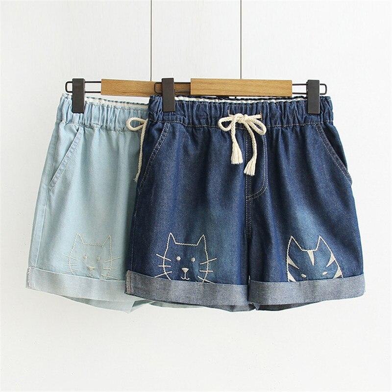Kurze Feminino Jeanloose Denim Bib Loch Overalls Jeans Demin Shorts Plus Größe Feminino Pantacourt Femme Ete Gepäck & Taschen