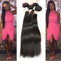 Siyo Hair Products 7A Best Malaysian Virgin Hair Straight 4 Bundles Malaysian Human Hair Weave Straight 100g/pc 1B