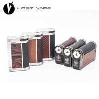 Original LOST VAPE PARANORMAL DNA250C LostVape DNA250 200W Replay Electronic Cigarette Vape Mod Powered By Dual 18650 Battery