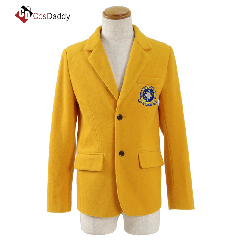 CosDaddy spider man cosplay costume  Peter school clothing coat outwear men