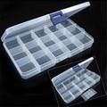 Storage Box Case Holder Container Pills Jewelry Nail Art Tips 15 Grids Organizer U6722
