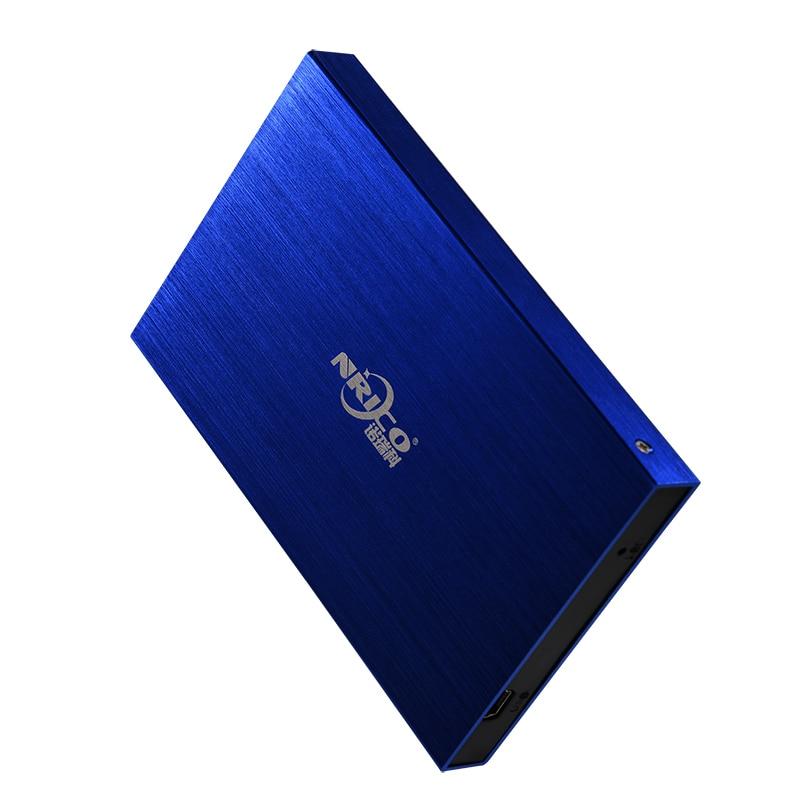 "NRICO HDD 2.5"" External Hard Drive 1TB 500GB 2TB Hard Disk hd externo disco duro externo Hard Drive(China)"