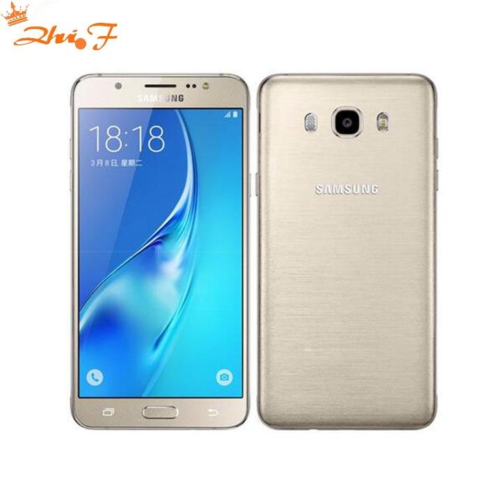 Eredeti Samsung Galaxy J7 j7108 (2016) 16 GB ROM 3 GB RAM Dual Sim 5,5 hüvelykes Octa-core 3300mAh FDD / TDD LTE okostelefon