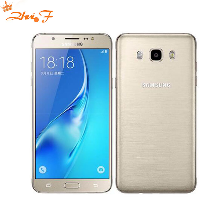 Samsung-teléfono inteligente Galaxy J7 j7108 (2016), teléfono móvil Original con 16GB ROM, 3GB RAM, dual-sim, pantalla de 5,5 pulgadas, octa-core, batería de 3300mAh, FDD/TDD LTE