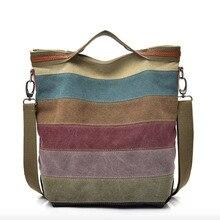 Yeni varış Kvky büyük madalyon Patchwork renk çanta kanvas çanta dikiş omuz taşınabilir çapraz paketi kadınlar için