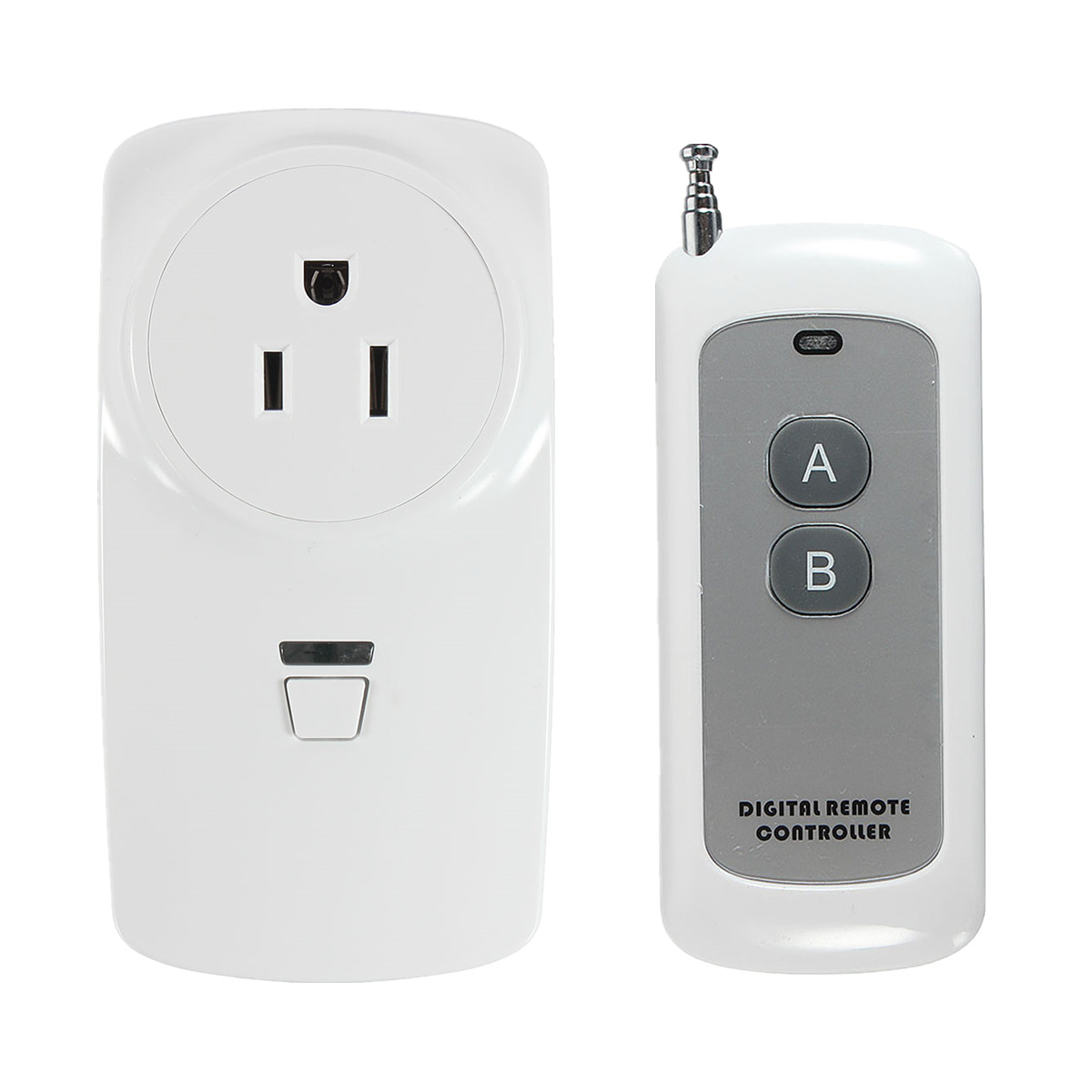 NEW Wireless Plug-In Power Socket Timer Switch Outlet Receiver With Remote Control Building Automation 3 pack wireless remote control power outlet switch plug socket infrared heater panel wireless socket