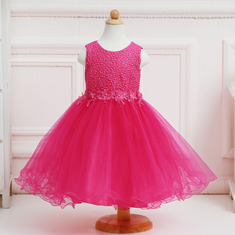 Wholesale New Fashion Tulle First Communion Dress Elegant     Wholesale New Fashion Tulle First Communion Dress Elegant Embroidered Ball  Gown Tiffany Blue Lace Flower Girl Dresses LL313 in Flower Girl Dresses  from