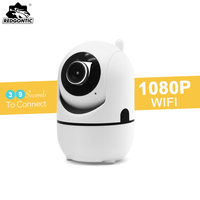 Mini IP Wifi Camera 1080P Full HD IP Camera Wireless SD Card PTZ Auto Video Surveillance