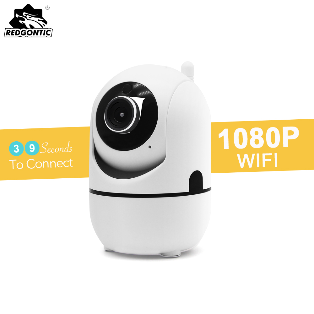 Mini IP Wifi Camera 1080P Full HD IP-Camera Wireless SD Card PTZ Auto Video Surveillance Camera With Motion Sensor Baby Monitor free shipping walkera dv04 video camera for mini sd card fpv hd camera first person view