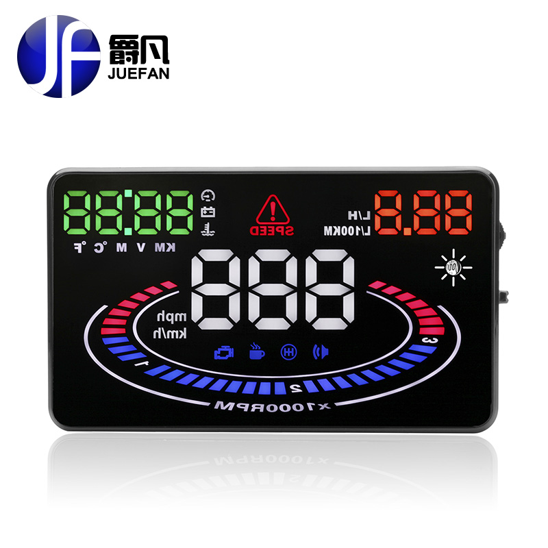 top E300 HUD Auto diagnostic scanner car Head Up Display Car Detector Speed Projector on Windshield HUD Display Car with OBD2 4f car obd2 ii manual switch hud overspeed warning windshield projector alarm system head up display interior lighting
