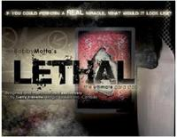 Lethal Signed Card On Board Magic Tricks, Stage,Card magic,Accessories,Illusions,Gimmick,Prop,Classic Toys