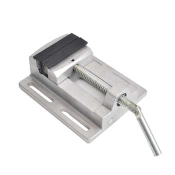 Manual Mini Vise Double Track 3 Inch Bench Vise Aluminium Alloy Table Vise for CNC Drilling Machine Woodworking Power Tools