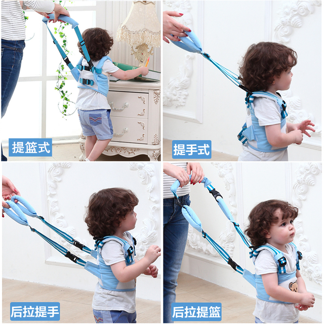 Multiple Usages Baby Walking Safety Security Strap Baby Walk Assistant Toddler Backpack Harness Leash For Children Child Walking