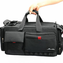 New black Professional VCR Video Camera Bag Shoulder Case fo