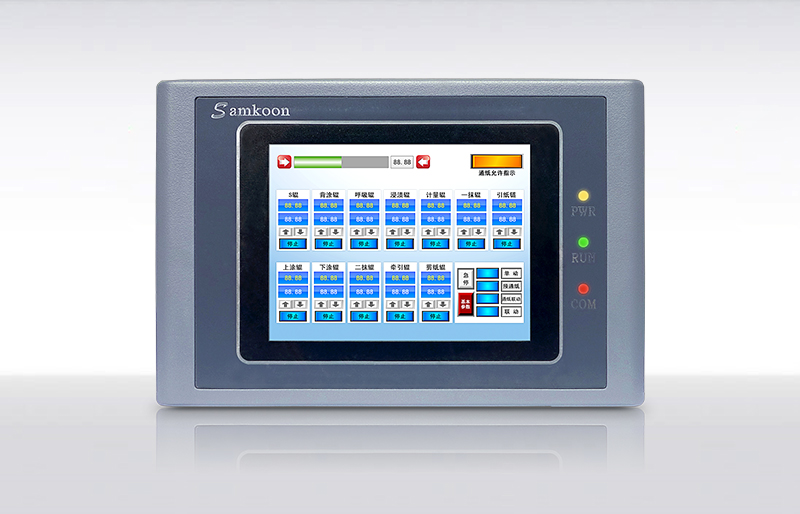 Samkoon SK-035AE 3.5  TOUCH SCREEN & HMI PANEL WITH PROGRAMMING CABLE AND SOFTWARE,HAVE IN STOCK sk 070ae 7 inch hmi touch screen samkoon sk 070ae with programming cable and software fast shipping