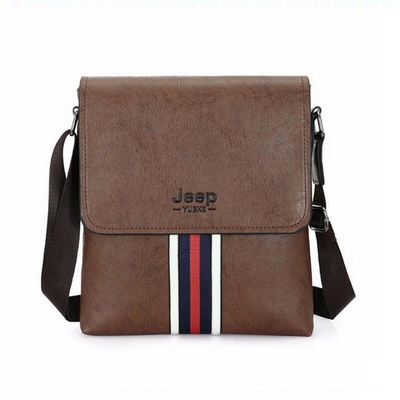2016  Hot Sold PU Leather Mens Messenger Bag & Men Travel Business Good Quality Bags