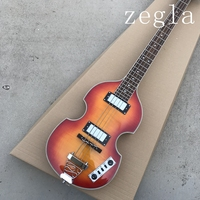 free shipping Top Quality Hofner Icon Series Vintage Sunburst Violin Bass Electric Guitar 4 strings bass