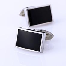 KFLK jewelry shirt Fashion cufflinks for mens Brand Cuff link Button Black High Quality Luxury Wedding Groom guests