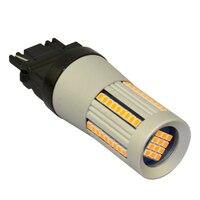 JSTOP 3156 T25 led Turn Signal No Hyper Flash No error Amber Turn Signals 12 24VAC lamp bulbs canubs led Front Rear turn Lights