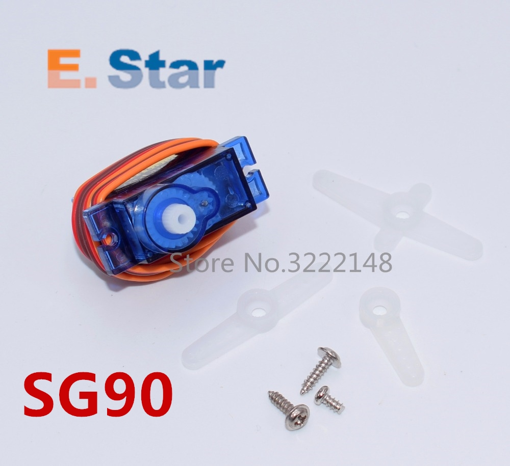 100pcs sg90 9g micro servo for airplane aeroplane 6CH rc helcopter kds esky align helicopter sg90