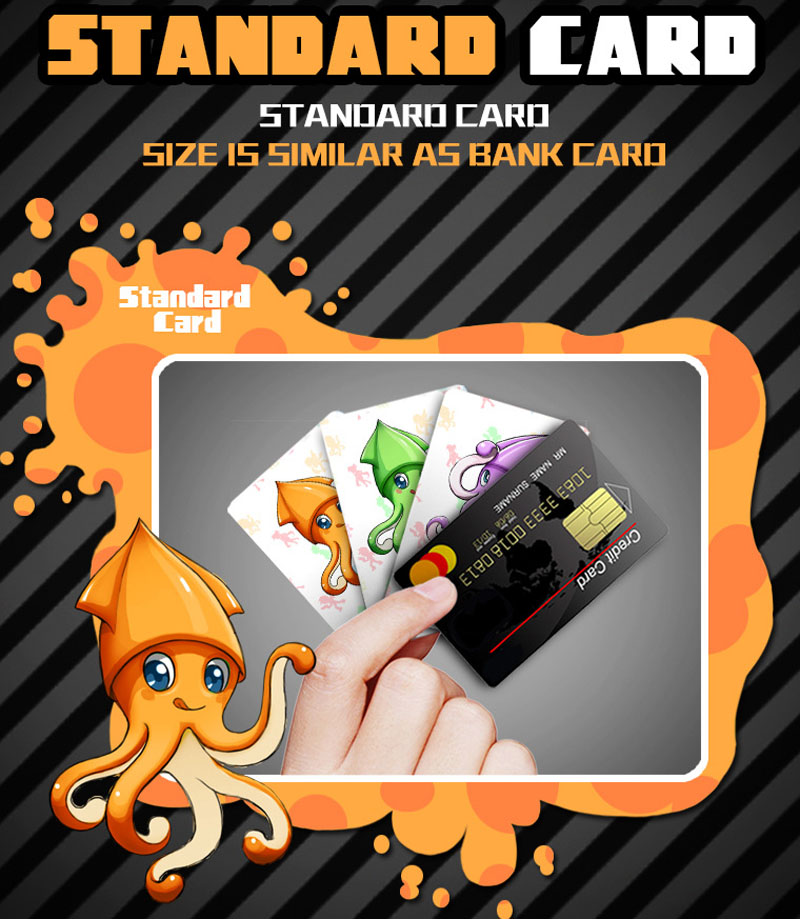16pcs set Amiibo Splatoon 2 Full Set NTAG215 Printed NFC Card Written by Tagmo Can Work For Switch in Game Collection Cards from Toys Hobbies
