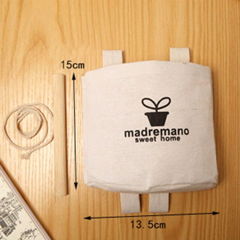 Image 5 - 2019 NEW Organizer Foldable Retro Hanging Door Storage Bed Single Pocket Phone Key Cartoon Wall Home Living Room Storage-in Hanging Organizers from Home & Garden