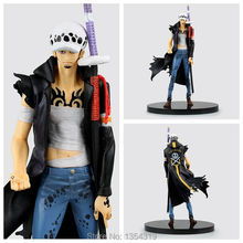 New anime one piece action figure injuries Trafalgar Law pvc action figure kids model toys collection gift juguetes brinquedos