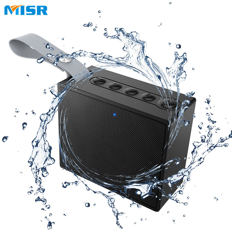 MISR SP6  Wireless Bluetooth Speaker Waterproof IPX6 Mini Portable Outdoor with MIC Microphone for Phones