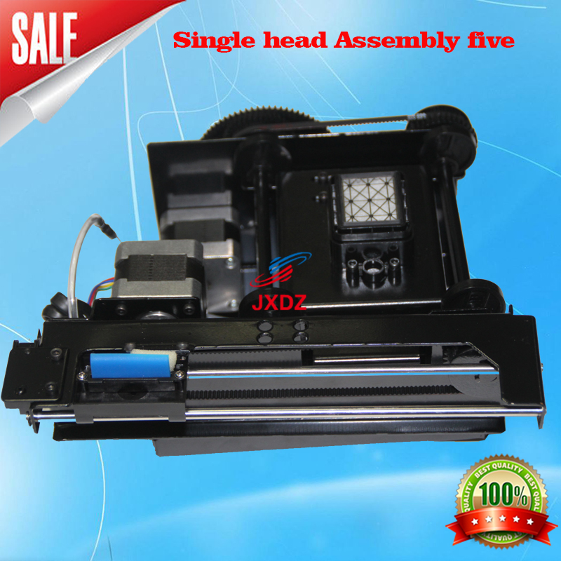 single head assembly five Up and down Inkjet printer eco solvent Fortune-lit dx5 print head pump assembl
