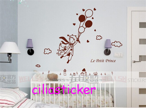 1 X 600*620Mm Removable Wall Sticker Decal Decor The Little Petit