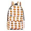 Emoji Casual Backpacks Casual Bagpack Men Women School Bag For Teenagers Girl Boy Lovers Student Book Travel Laptop Bag Mochila