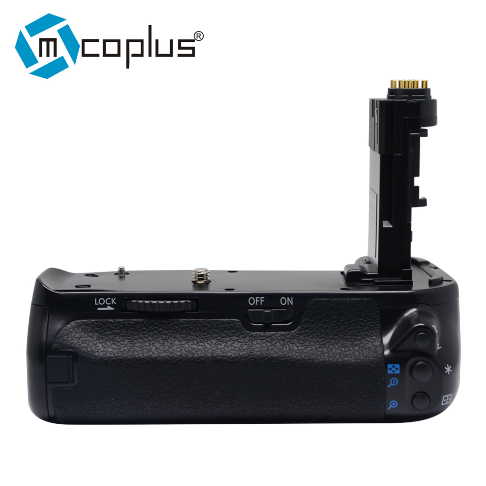 Poignée de batterie Mcoplus BG-6DII pour Canon EOS 6D Mark II 6D2 comme EG-E21