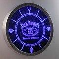 nc0477 Jack Daniel's Whiskey Neon Sign LED Wall Clock (a048-b design)