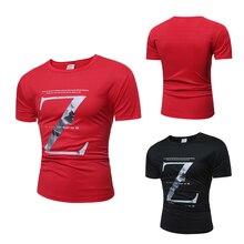 Mann Z Brief Printing Kurzarm palace erweitert T t-shirt t-shirt t-shirt homme marke baseball jersey Zwei Farbe