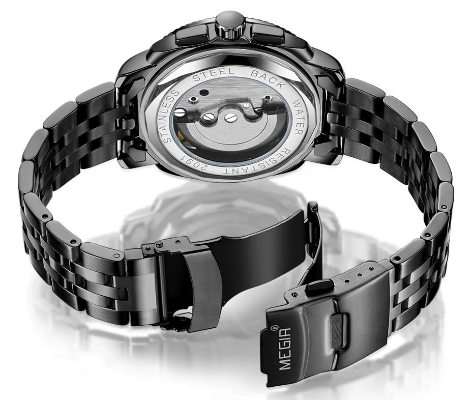 HTB1PLQJX5nrK1RjSsziq6xptpXaG MEGIR Luxury Quartz Watches Stainless Steel Military Wrist Watch