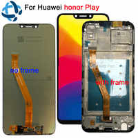High Quality New LCDs With Frame For HTC Desire 610 D610n Lcd Display Touch  Screen Digitizer Replacement Assembly 100% Tested