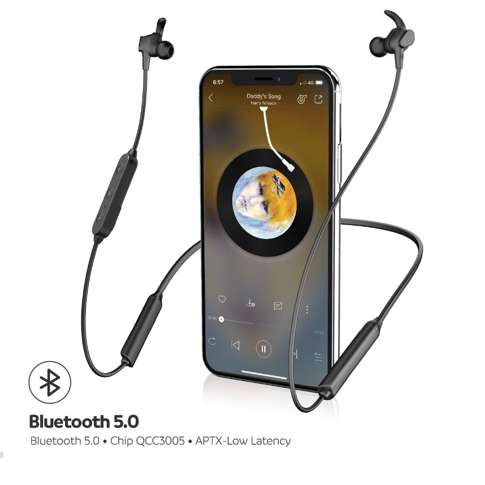 SoundPEATS Engine Bluetooth Wireless Earphone Neckband Dual