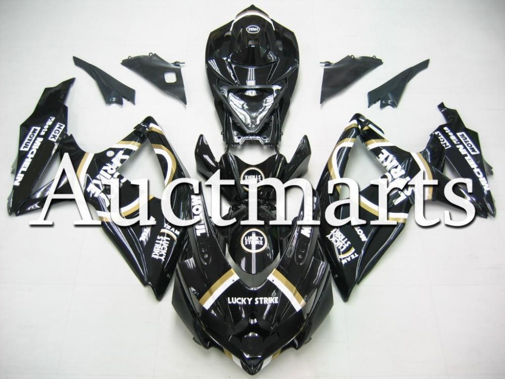 Fit for Suzuki GSX-R 750 2008 2009 2010 ABS Plastic motorcycle Fairing Kit Bodywork GSXR750 08 09 10 GSXR 750 GSX R750 CB38