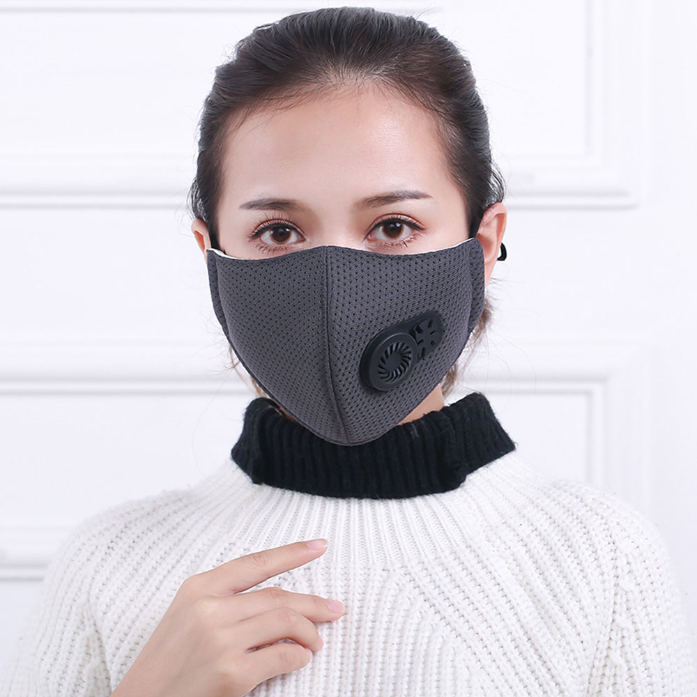 Washable Respirator Made Be Friendly In Use 1pcs Pm2.5 Pollution Mask Anti Air Dust And Smoke With Earloop Women's Accessories