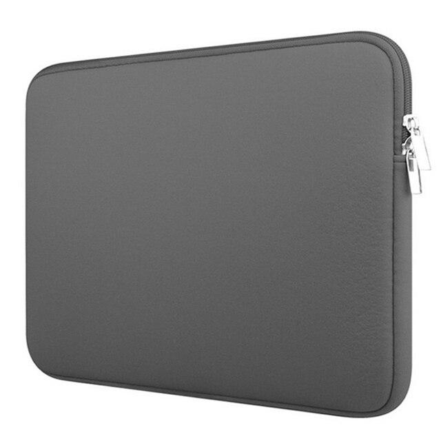 """Laptop caso notebook Computador de Bolso Dos Homens Das Mulheres de manga comprida 11 """"12"""" 13 """"15"""" 15.6 """"para Macbook pro Ar Retina Carry para Xiaomi Lenovo 14"""