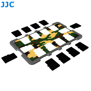 Image 2 - JJC Memory Card Case Holders Handle Storage Box Memory Card Wallet Credit Card Size for SD SDHC SDXC Micro SD MSD TF Cards